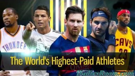 Top 20 Highly Paid World Athletes in 2017 according to Forbes | Winnings