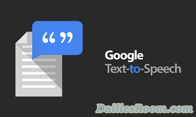 How to Use Google Text-to-Speech on Android device - Read Text Aloud
