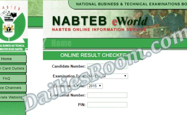 Check 2017 NABTEB May/June Result | NABTEB Result Online Checker