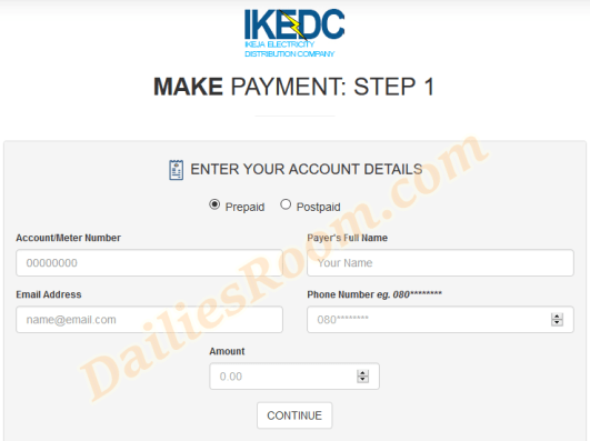 Steps to Pay Electricity Bills Online At www.payelectricitybills.com
