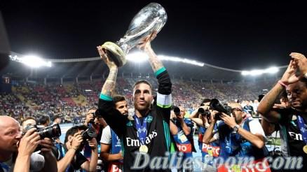 2017 UEFA Super Cup - Real Madrid Wins UEFA Super Cup Title