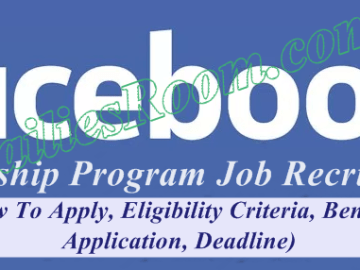 Signup Facebook Fellowship Program Application for Job Recruitment