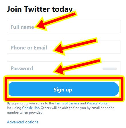 Create a Free Twitter Account - Twitter Account Login | www.twitter.com