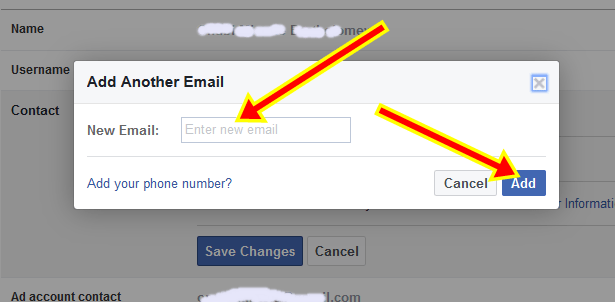 How to Easily Change Facebook Email Address | FB.com Email ID
