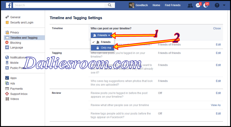 how to block someone from posting on your facebook business page