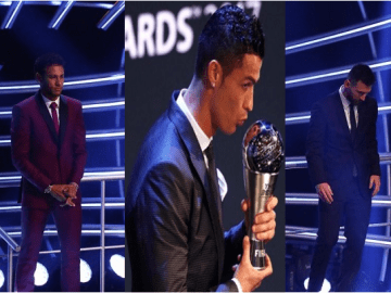 2017 FIFA Best Football Awards Winners Full List: Ronaldo Wins BPA Award