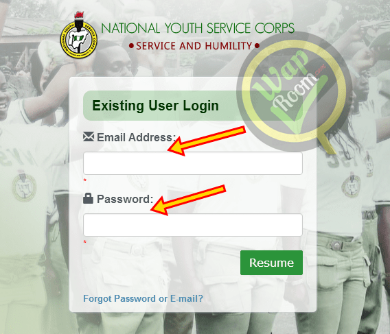 NYSC Dashboard Portal - nysc Login Dashboard for Call-up letters online Printing