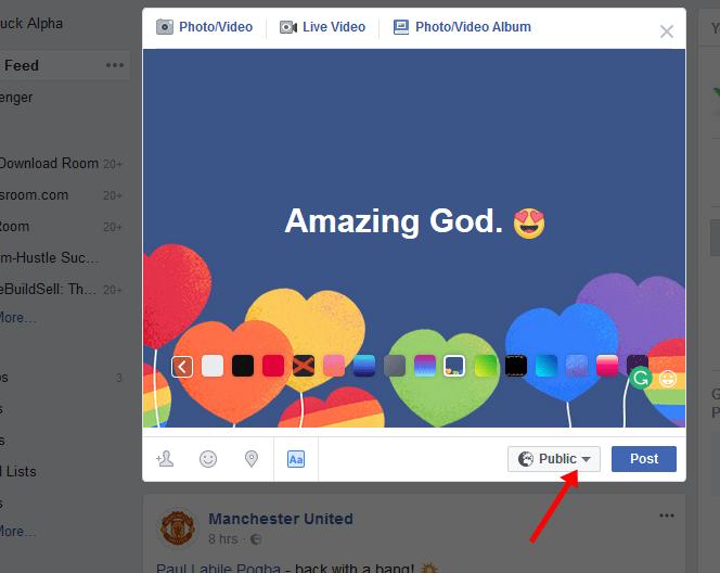 Schedule Facebook Post or Messages on Facebook.com