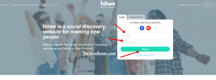 How To Restore MY Hitwe Deleted Account, Hitwe Sign Up For Free, Login
