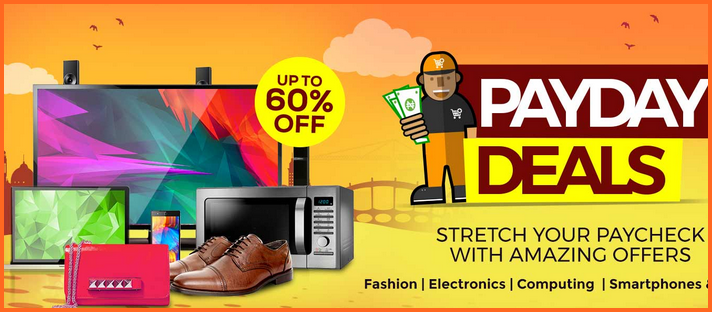 Jumia Payday Deals Online Shopping - Get 60% Discount