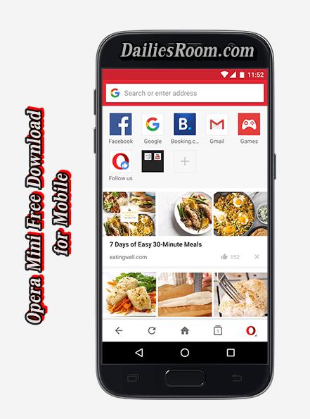 Opera Mini Free Download for Mobile - Opera Mini Latest Version