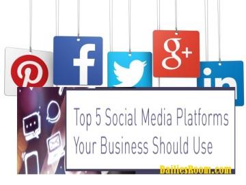 Best Social Media Platforms for Marketing | 7 Business Social Media Sites