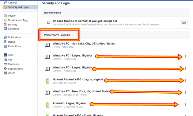 How To Log Out of Facebook on Another Computer, Phone or Tablet