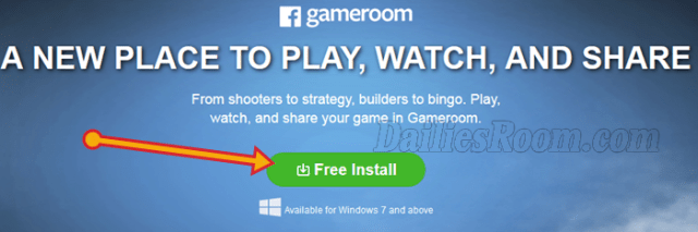 Facebook Game Room Install Guide (How to Install Facebook Gameroom Free)