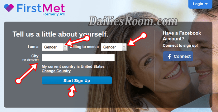 100% Free FirstMet Online Dating Sign Up & login to Meet 30 million Singles