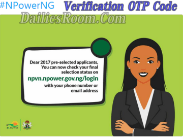 npvn.npower.gov.ng/login Verification OTP Code without Phone Number or Email