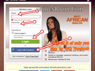 Afrointroductions.com login - African Dating Sign In   Afrointroductions Review