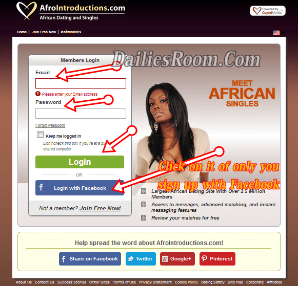 Afrointroductions.com login - African Dating Sign In | Afrointroductions Review