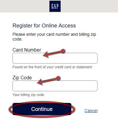 GAP Credit Card Online Application   GAP Credit Card Login