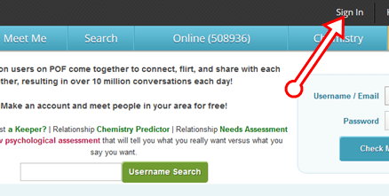 POF LOGIN UK - How to Sign In POF.com Online Dating Account Free