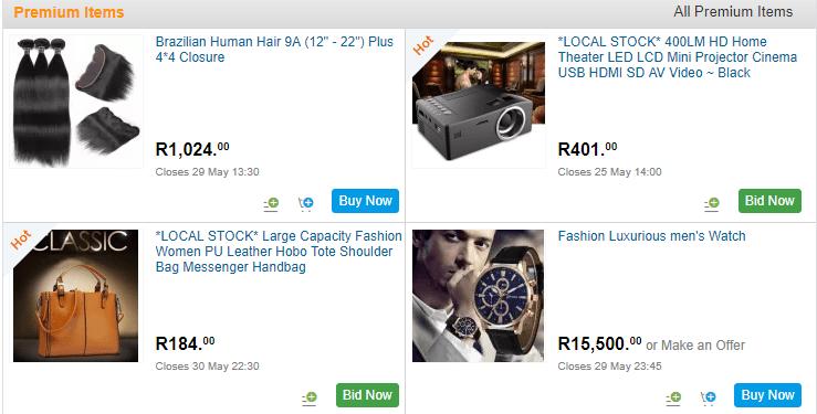 www.bidorbuy.co.za South Africa Online Shopping - Bidorbuy Registration
