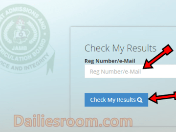 How to Check Jamb Mop-up Exam Result on www.jamb.org.ng