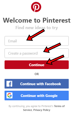 www.pinterest.com Page Review - Pinterest Registration | Pinterest Apk