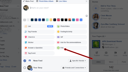 How To Add Poll Options To Facebook Poll - Facebook Poll Options
