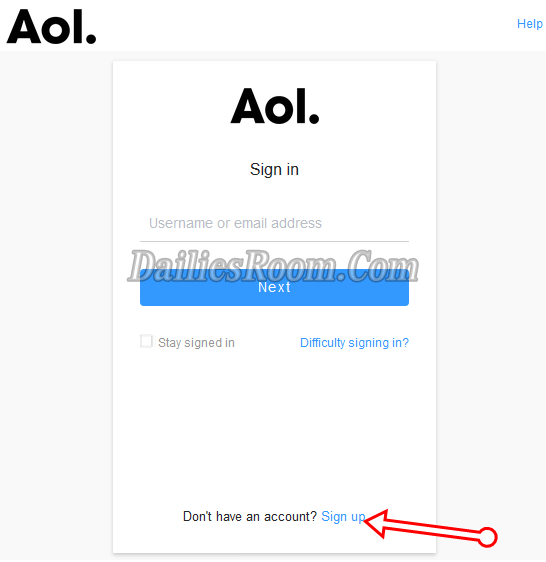 How To Create A New AOL Email Account