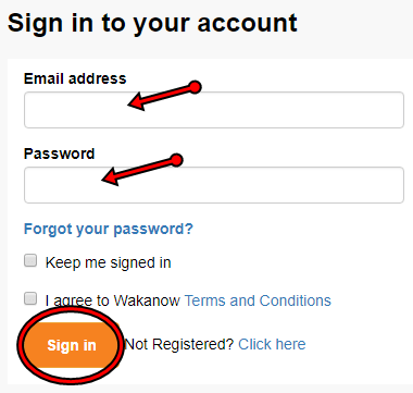 Wakanow Account Sign in | Wakanow Login Portal - Accesss Wakanow Account