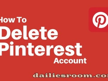 How To Delete Pinterest Account | Pinterest Deactivation Page