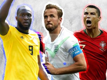 2018 Soccer World Cup Top Scorers (Top 7 Golden Boot race So Far)