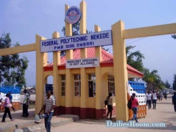 2018/2019 NEKEDE HND Online Application Form - www.fpno.edu.ng