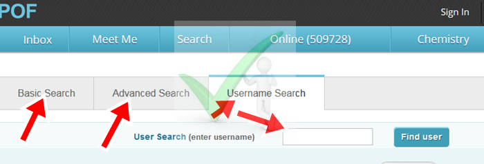 Plenty Of Fish Search Without Registering UK | POF Username