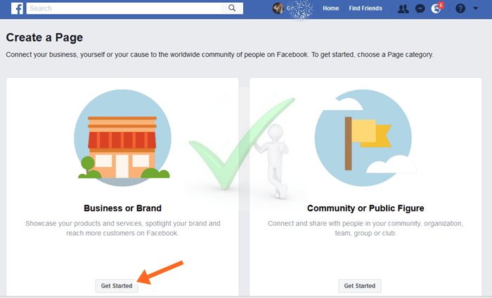 How to Create A Page On Facebook For My Business Via Mobile Phone and PC