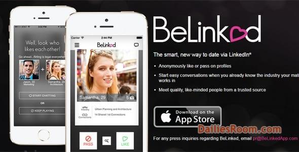 Dating app med LinkedIn