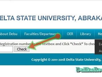 How To Check Delsu Admission List 2018 - Delsu.edu.ng Admission Status
