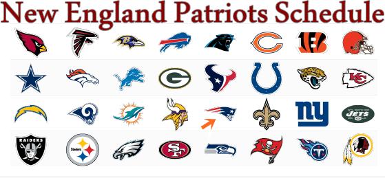 New England Patriots Schedule