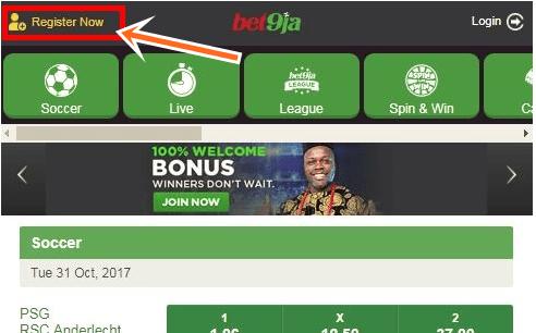 Bet9ja Mobile Registration for Sports Bet9ja Mobile Booking Online