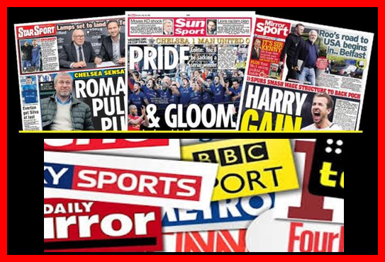 Latest Football Papers News And Transfer Gossips This Morning