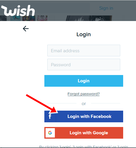 Facebook with login in How to