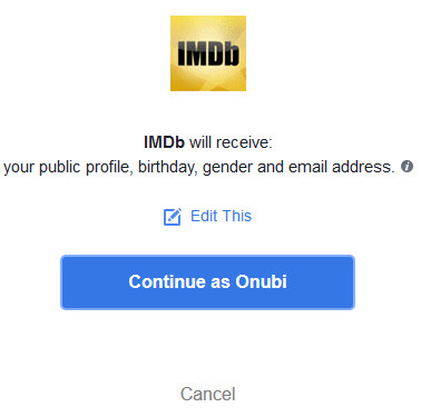 Steps to IMDb Login Using Facebook For Movies, TV Series
