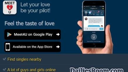 Download Meet4U App - Meet4U Registration For Singles Chat