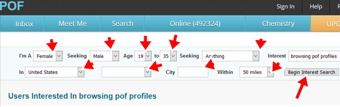 Plenty Of Fish Search Without Registering 2018-2019 Guide