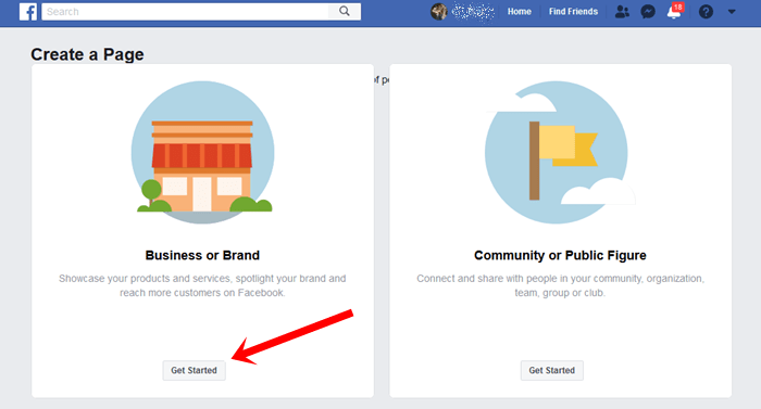 FB Business Page