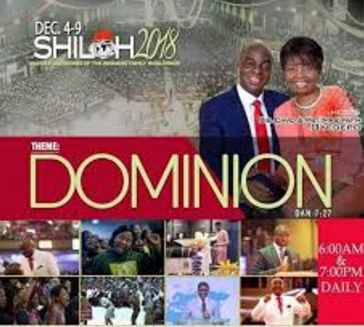 SHILOH 2018 Dominion Images, Shiloh 2018 Theme and Stickers
