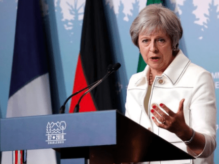 UK PM Theresa May Suffers Leadership Challenge Over Brexit Deal