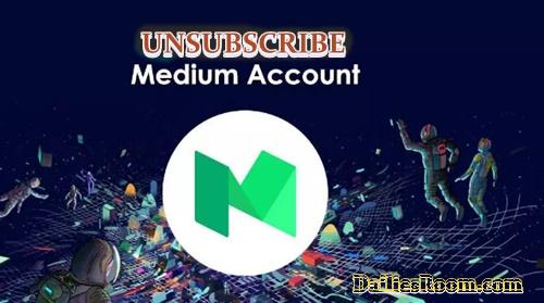 How To Cancel Medium Subscription At www.medium.com