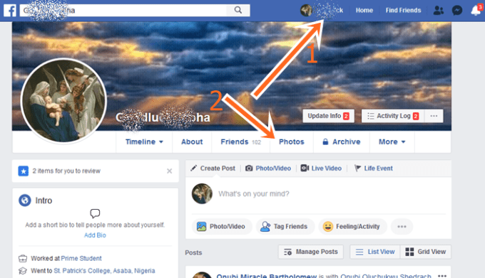 How To Delete Photos From Facebook Album Using FB Website