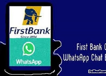 FBN Whatsapp Banking: First Bank WhatsApp Chat Banking